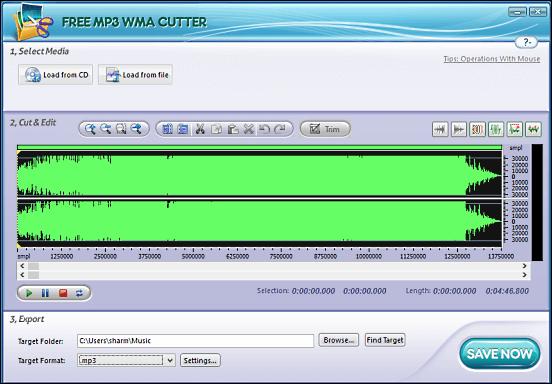 Free Mp3 WMA Cutter - Download mới và nhanh nhất