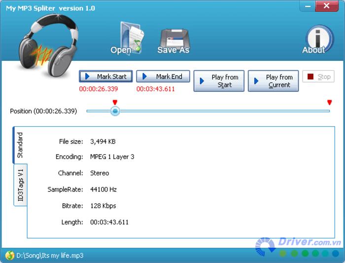 My MP3 Splitter cat va chinh sua