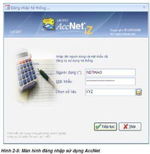 Download Phần mềm kế toán Lạc Việt AccNetiZ miễn phí