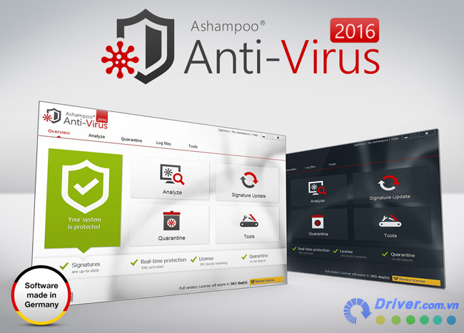 Ashampoo Anti-Virus diet virus hieu qua