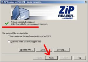 download zip reader