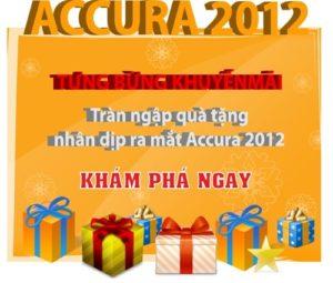 Tải về bộ cài Accura 2012 - Phần mềm kế toán miễn phí