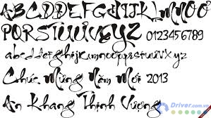 download font go tieng viet thu phap