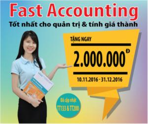 Phần mềm kế toán FAST Accounting 11