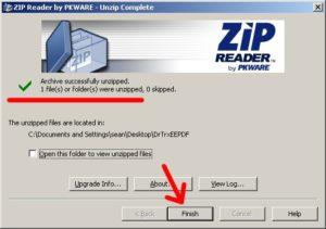 download zip reader