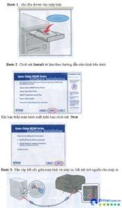 Cách cài driver máy in samsung SCX-3201 bằng đĩa CD