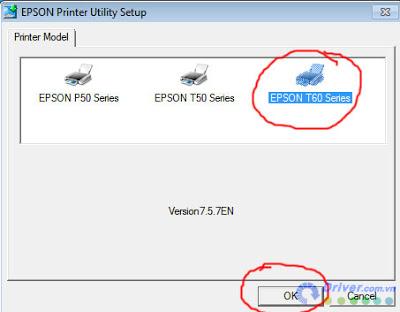 Cài đặt driver máy in Canon LBP CP800 bước 2